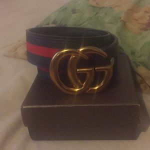 Authentic Double G Gucci belt